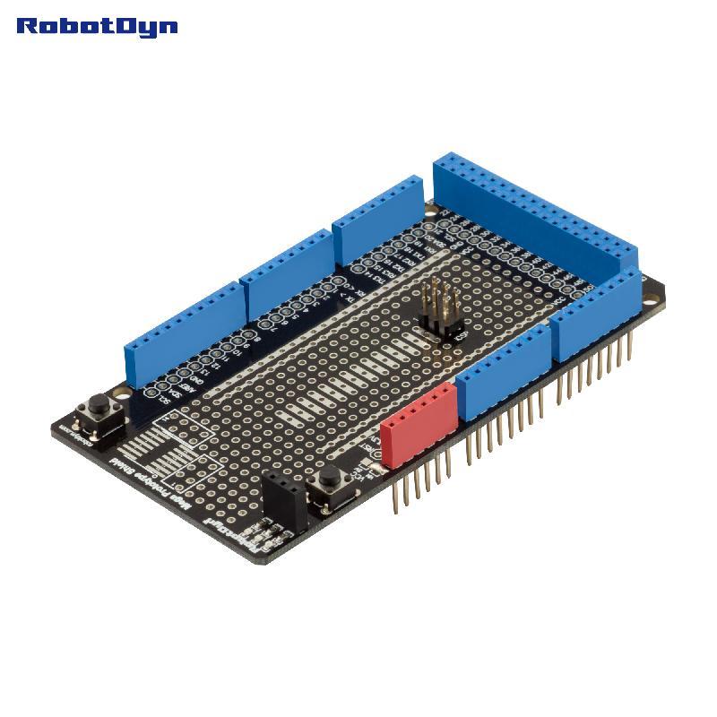 Prototype Shield Mega For Arduino Mega (Assembled)