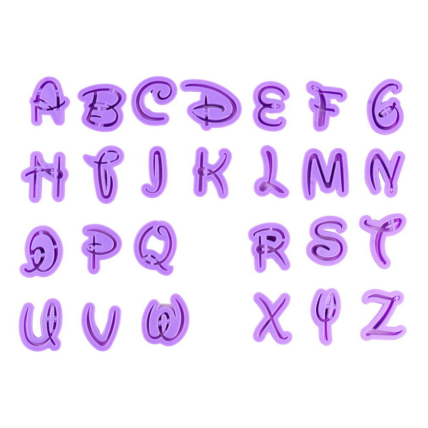 English Letter Font Alphabet Cookie Cutter kitchen tools