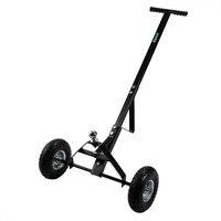 W 2 Wheels Metal Caravan Trailer Dolly Mover Heavy Duty T Handle Hand Trolley