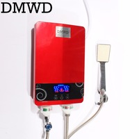 DMWD 7000W Electric kitchen Tankless hot Water Heater Shower Instant Instantaneous Water thermostat Heating Heater Bathroom EU