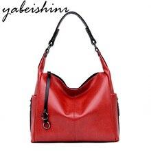 Bolsa de mão feminina de luxo marca feminina bolsa de ombro cor sólida crossbody saco 2019 alta qualidade couro grande capacidade prático