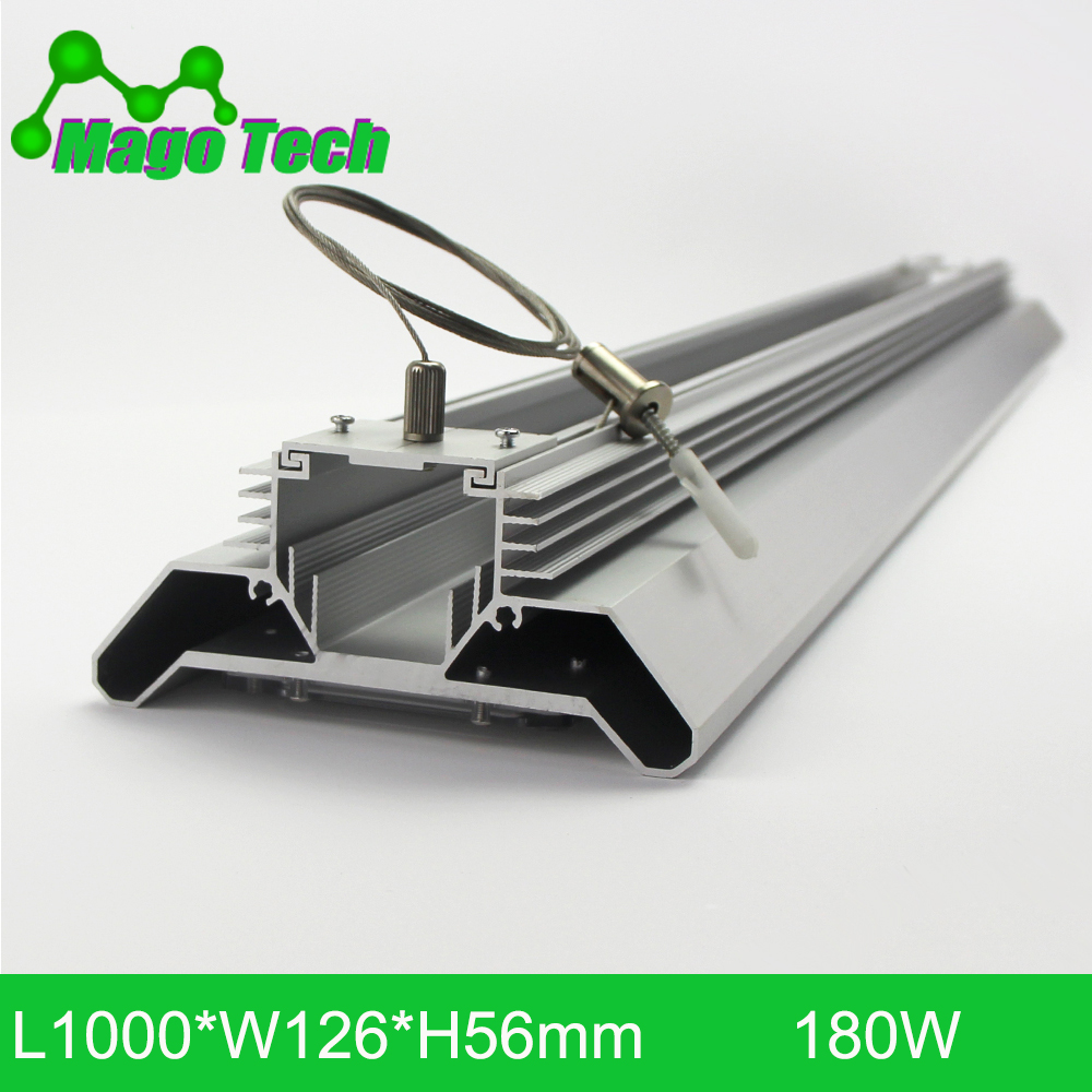 180W LED Grow Light Heatsink Grow Strip Light Aluminum Heat Sink 1M Grow Lighting(whole set Heatsink Only)