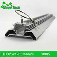 180W LED Grow Light Heatsink Grow Strip Light Aluminum Heat Sink 1M Grow Lighting(whole set Heatsink Only)