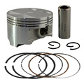 Bore Size 83mm Motorcycle Piston & Ring for Suzuki DR350 DR 350 Piston Kit  4mm Overbore 1990-1999