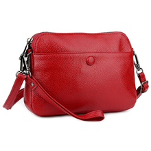Wholesale Cowhide Genuine Leather Women Messenger Bag Crossbody Female Fashion Shoulder Bags for women Clutch Small Handbags