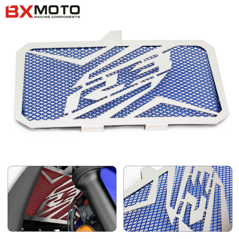 For Yamaha Yzf R3 YZFR3 2015 2016 New Design Motorcycle Accessories parts Stainless Steel Radiator Grille Guard Cover Protector arashi motorcycle parts radiator grille protective cover grill guard protector for 2004 2005 2006 yamaha yzf r1