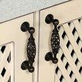 8 шт клетка стиль винтаж шкаф ручки ящика мебель шкаф кухонный шкаф двери тянет ручки и ручки JF1393
