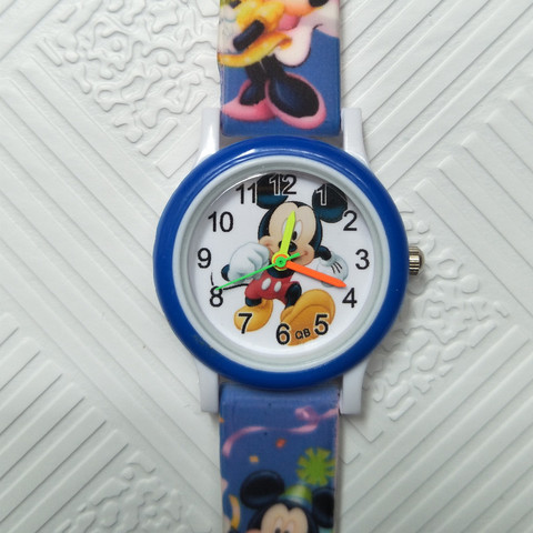Cartoon mickey children watch digital electronic kids watches for boys girls gift Student clock Christmas gift child wristwatch Karachi