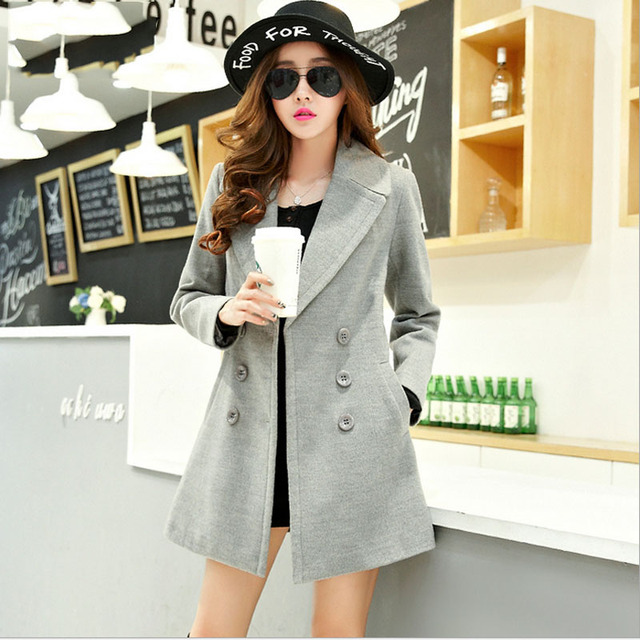 Aliexpress.com : Buy 1pcs Women plus size Slim fit coats ...