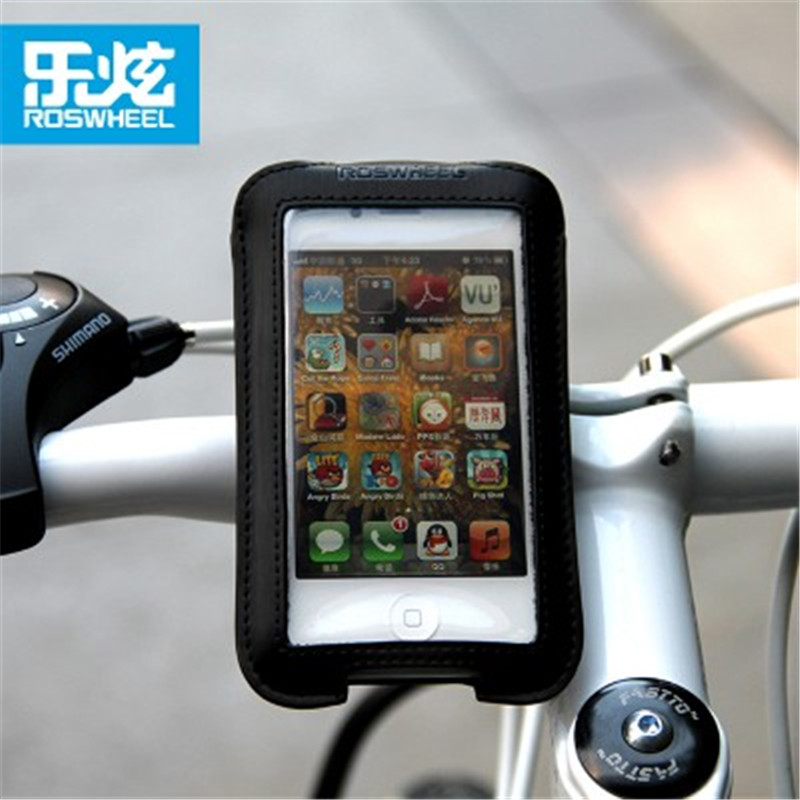 Roswheel waterproof <font><b>bike</b></font> bag bicycle handlebar phone bag cycling basket bycicle pannier bags <font><b>accessories</b></font> for <font><b>iphone</b></font> 4s 5s