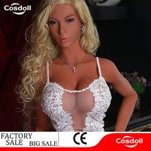 Cosdoll Lastest 168cm Big Breasts Big Buttocks Silicone Sex Dolls for Men 3D Vagina Oral Anal Sex Male Masturbation