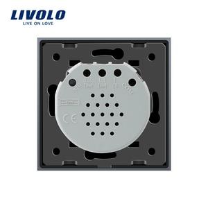 Image 5 - Livolo Eu Standard Touch Switch, 2Gang 2Way Controle, 7 Kleuren Crystal Glass Panel, muur Lichtschakelaar, 220 250V,C702S 1/2/3/5