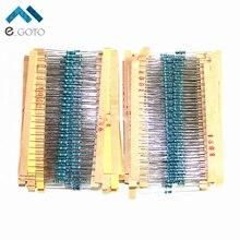 2600 шт. 130 значения 1/4 Вт 0.25 Вт 1% Металл резистор Ассорти pack Лот комплект Сопротивление резисторы Ассортимент комплектов фиксированной конденсаторы