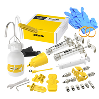 EZ Mtb Bike Disc Brake Bleed Kit Tools Universal Brand Dot Mineral Oil AVID MAGURA FORMULA