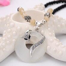 Stone Fox Necklaces