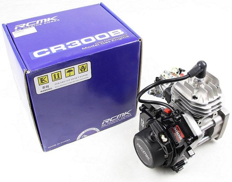 RCMK CR300B 5.8P horsepower Engine for Baja FG MCD LOSI series aluminum water cool flange fits 26 29cc qj zenoah rcmk cy gas engine for rc boat
