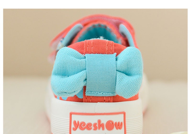 Canvas Children Shoes 17 New Baby Girls Princess Shoes Brand Kids Sneakers for Girls Denim Child Flat Toddler Shoes 6