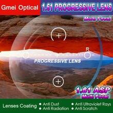 1,61 Standard Progressive Rezept Schauspiel Angepasst Optische Linsen 2 stücke mit UV Schutz & Anti-Reflexion Beschichtung