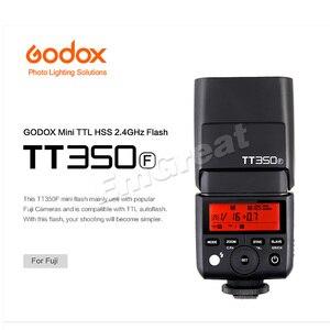 Image 2 - Godox TT350F pour Fujifilm Mini Speedlite caméra Flash/X1T F TTL HSS GN36 haute vitesse 1/8000S 2.4G système sans fil X pour Fuji