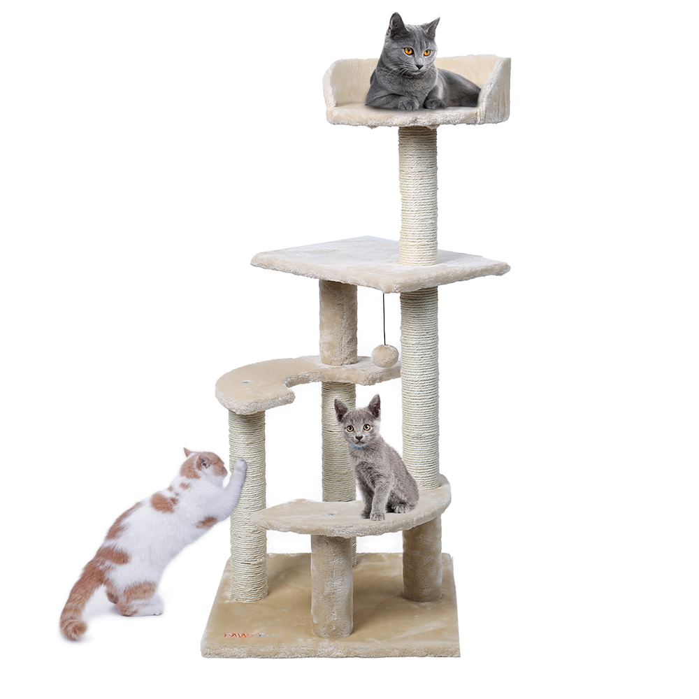 CAT TREE HOUSE SCRATCHER