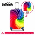 Women waterproof luggage covers Clear suitcase protective covers for girls spandex luggage protector bag Cute spandex cover