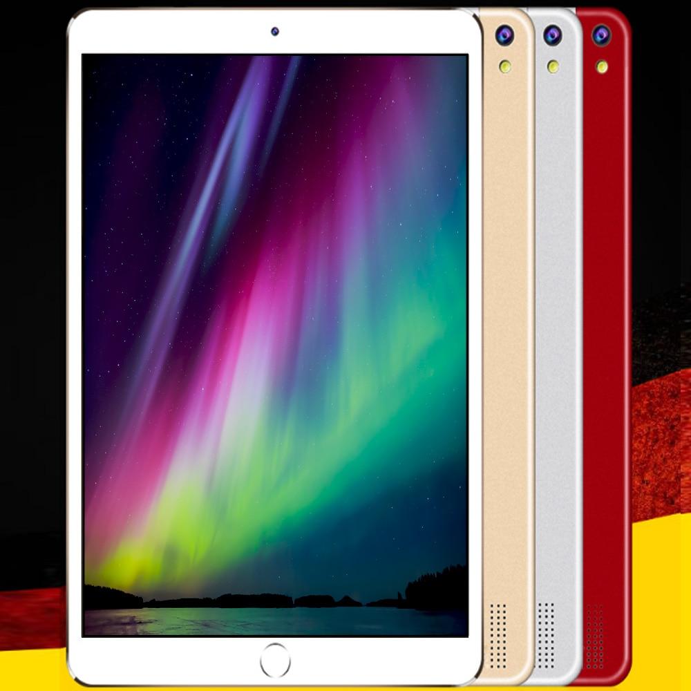 цена на BDF 10.1 Inch Tablet Pc Android 7.0 4GB+32GB Octa Core 3G Mobile Phone Call Dual Sim Card Slot Mini Pad Pc Computer Pc