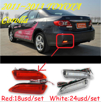 Corolla rear light,Altis;2011~2013,LED,free ship!Corolla rear lamp,vios,camry,Hiace,tundra,Corolla taillight,Corolla fog light фото