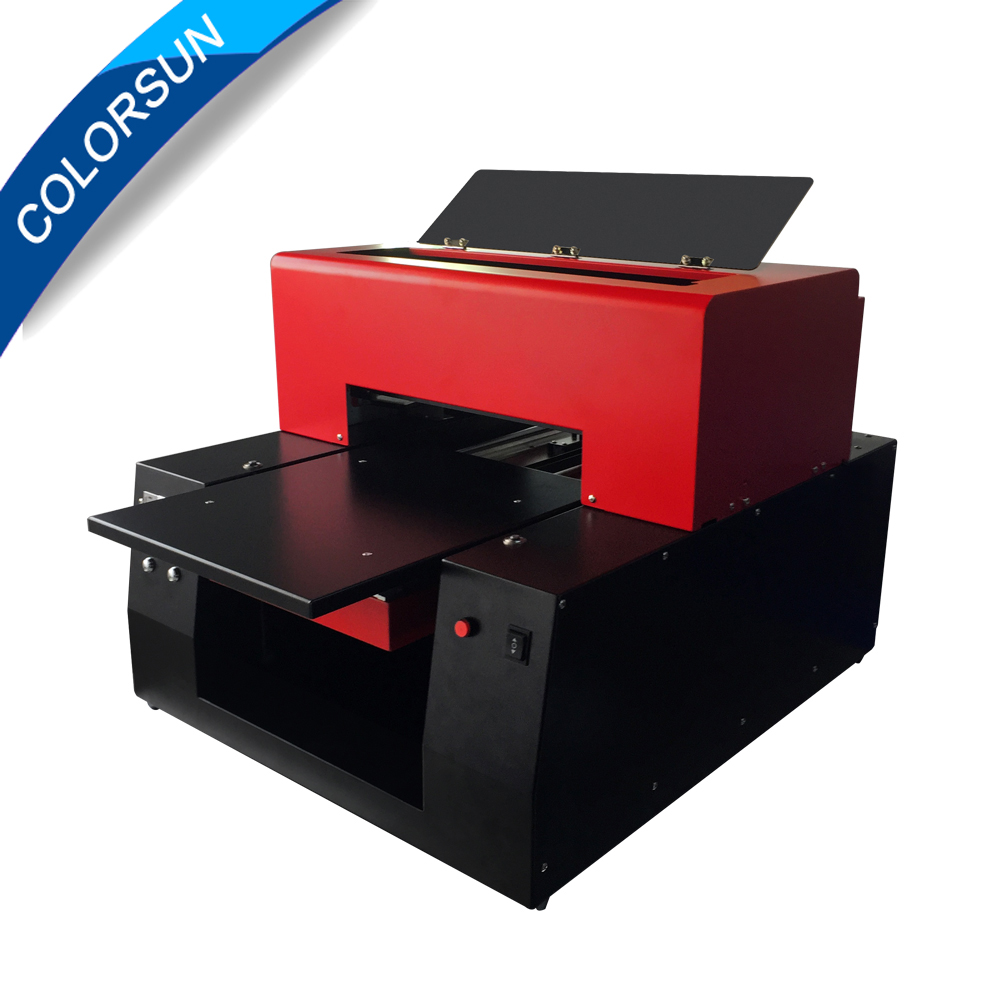 6 color A3 uv printer for bottle/glass/wood/metal/PVC/acrylic/tile/leather printing A3 Flatbed UV printer ce certification a4 mini uv flatbed printer for photos printing