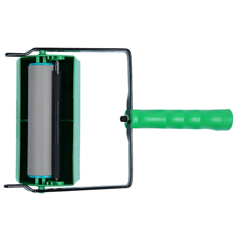 Double Color Wall Decoration Paint Painting Machine For 7 Inch Roller Brush Green Tool