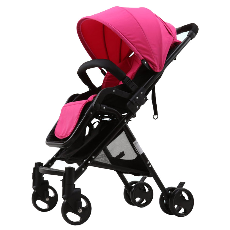 Hot Sale Baby Stroller High Landscape Infant Pushchair Portable Foldable Travel Strollers Toddler Baby Buggy Seat Lying Prams