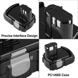 Image 3 - Batterie Rechargeable au Lithium 18V 2.0Ah pour Hitachi BCL1815 BCL1830 EBM1830 DS18DFL CJ18DL DS18DL WR18DMR outils électriques Batteria