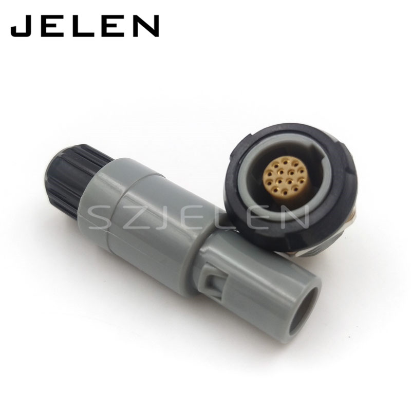 SZJELEN  1P plastic connector 14 pin plug socket, PAG/PKG ,  plastic medical connetcor 14 pins Male and female szjelen 0b series connector 7pin plug and socket fgg 0b 307 clad ecg 0b 307 cll medical equipment power plug socket