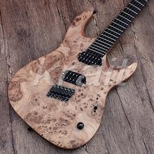 Krait fanned fret гитара 6 струнная электрогитара из красного дерева 5 шт. шеи
