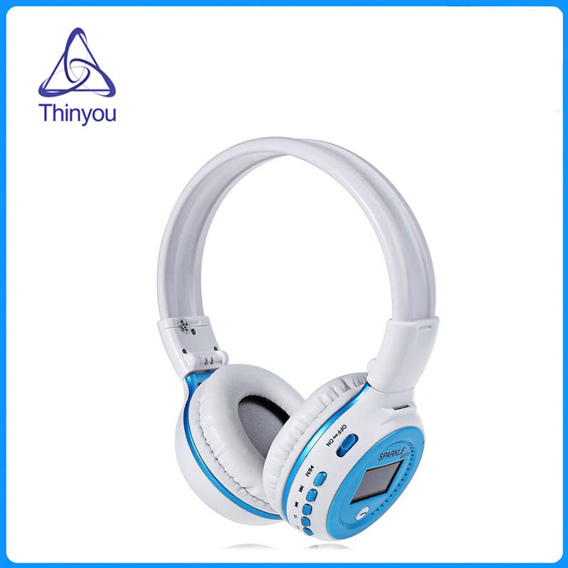 Thinyou Original bluetooth Headphones Microphone stereo wireless headse Active Noise Cancelling Stereo Deep bass Headset 8252 original stereo sports gaming noise reduction built in microphone headphones wireless bluetooth headset for iphone samsung