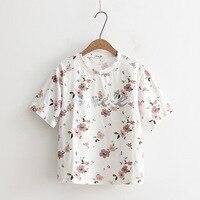 2018 Summer T shirt Women Lady Tshirt Female Clothing T Shirt Printed
