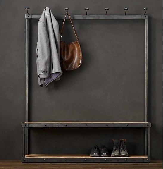 LOFT American Furniture Fashion Floor Interior Hallway Coat Rack Interesting Hallway Coat Racks
