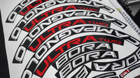700C 45/50mm rim sticker Road bicycle stickers cycle road wheels decal for CampyTWO 50 wheel sticker