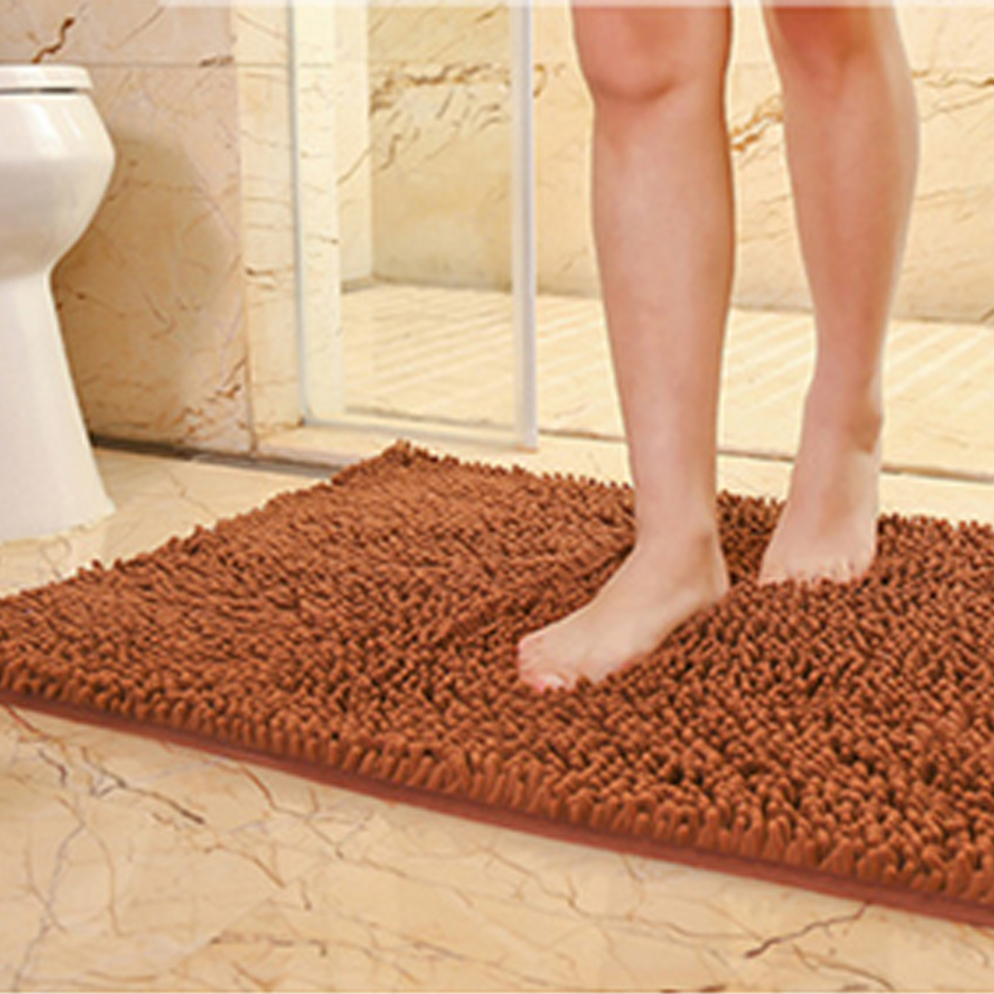 Carpet In A Bathroom: 3 Sizes Bath Mat Bathroom Carpet Bathroom Mat For Toilet