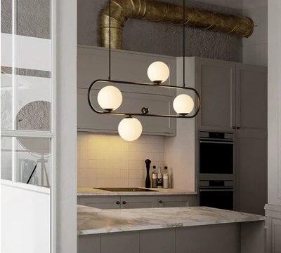 Nordic Designer Loft Pendant Light Retro Industrial Geometry Creative Dining Living Room Hanging Lights Coffee Shop Decr Lights