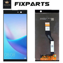 "5.5 ""para sony xperia xa1 plus lcd g3412 g3416 g3426 display touch screen digitador assembléia substituição para 6.0 sony xa2 mais lcd(China)"