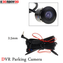 KOORINWOO HD CCD Car DVR Camera Recorder For car Rear View Camera Colorful Circle Cam 2.5MM Camera Reverse Parking Assist Safe