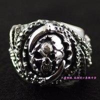 925 pure silver devil thai silver ring