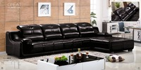 Living Room Furniture Modern L Shaped Fabric Sectional Sofa Set Design Couches For Living Room With