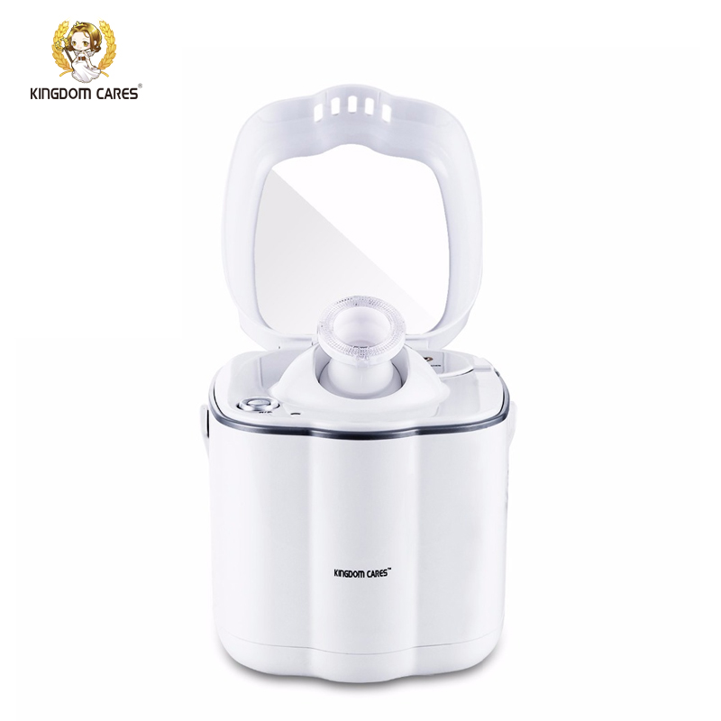 KINGDOM CARES Nano Ionic Facial Hot Steamer Face Moisturizing Acne Blackhead Pores Cleaning Cleaner Mirror Home SPA KD2332 ...