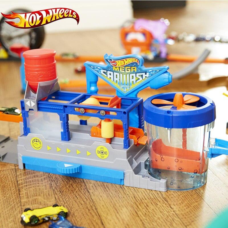 Hot Wheels Hot Wheels Mega Car Wash Play Set