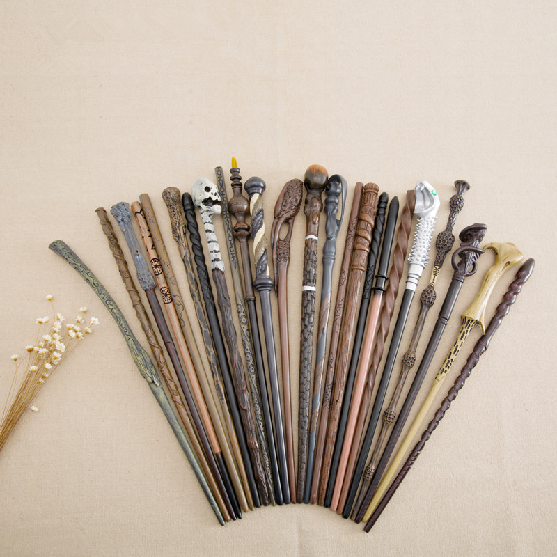 mobokono Top Quality Cho Chang Magic Wand With Metal core Cosplay Prop Magic Wand Movie Toy Stick Harry Potter