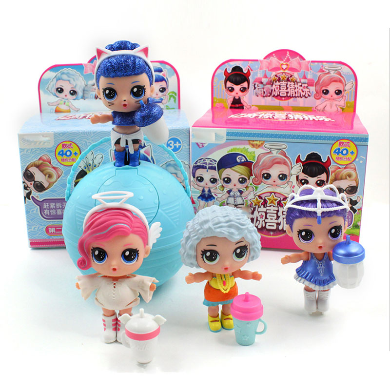 1pc Eaki Original Doll Children Puzzle Toy Kids Funny DIY Toys Princess Doll Original Box Multi Models