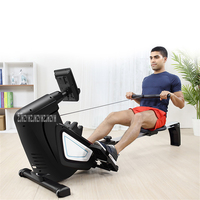 P436 Water Resistance Rowing Machine Home GYM Body Glider Magnetic Control Abdominal Pectoral Arm Training Fitness Equipment