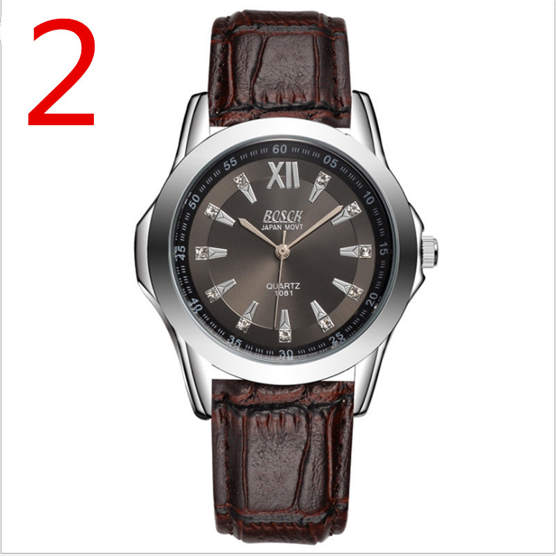Mens stainless steel watch band business quartz watch.2Mens stainless steel watch band business quartz watch.2