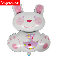 VIPOINT PARTY 85x73cm white rabbit foil balloons wedding event christmas halloween festival birthday party HY-310